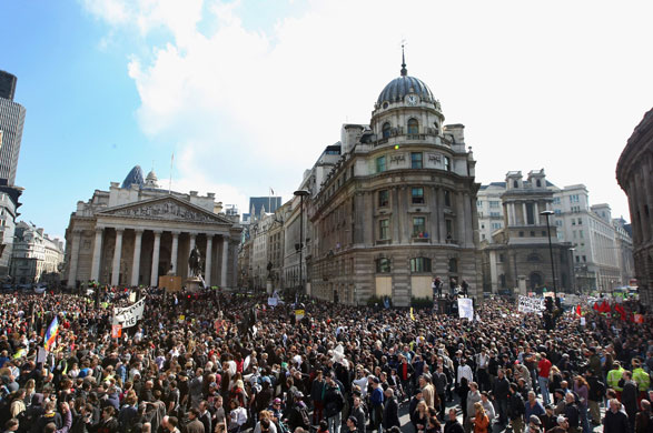 Bankalar Karşıtı Eylem, 1/Nisan/2009, Londra