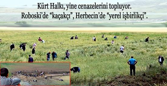 Herbecin halkı cenaze topluyor.