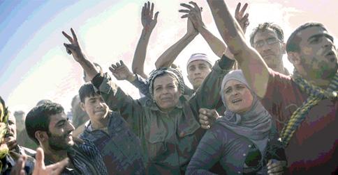 Kobane direnişi düşmedi.